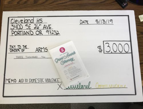 A Grant from CHS Leadership Class